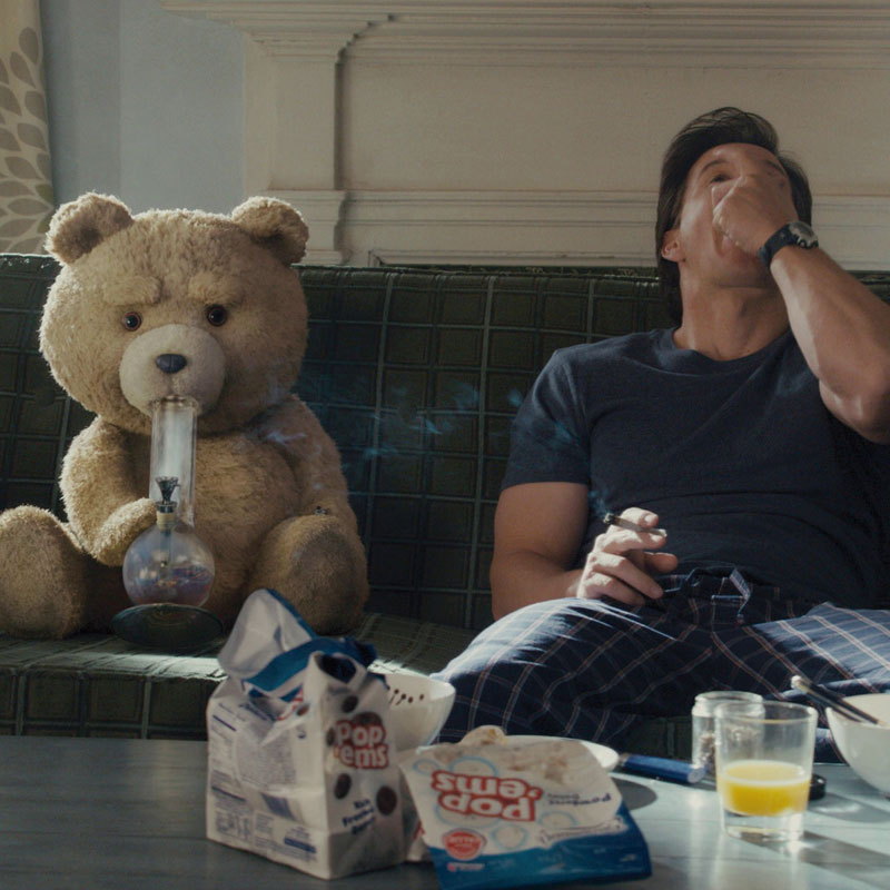 The gallery for --> Ted The Bear Smoking Weed